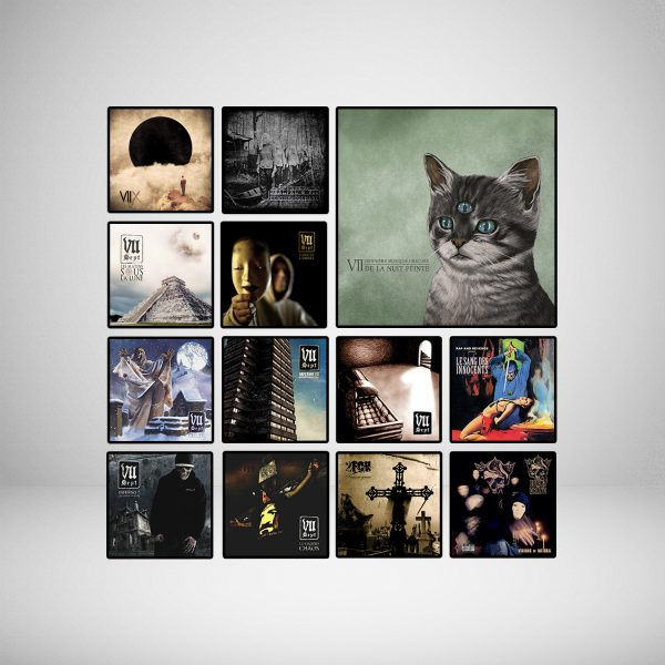 Discographie en stock
